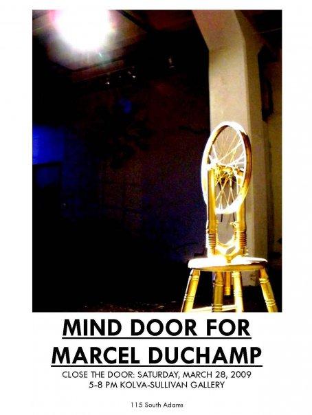 Mind Door for Marcel Duchamp